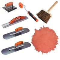 Imprinted Concrete Hand Tool Kit - Kraft Tool